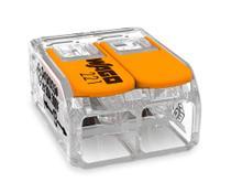 1 Kit Com 10 Unidades Conectores Para Chuveiro 221-612 Wago -