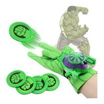 1 Luva Lança Discos Vingadores Aranha/hulk/américa/h.ferro - Kotobukiya