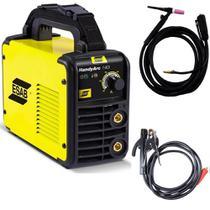 1 Maquina De Solda Tig C Tocha Inversora 140a Handyarc 140i 220v Esab -
