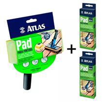 1 Pad Pintura Decks, Paredes, Piso E Madeira Atlas + 2 Refis -