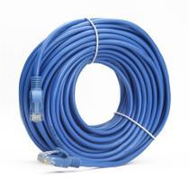 1 Peças Patch Cord Para Roteador Cat5 15 Metros Azul - Knnup