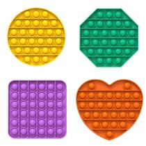 1 Pop it Fidget Toy Anti-Stress Bolha Sensorial Sortido -