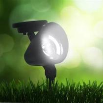 1 refletor Solar jardim led branco 10x mais forte Luminária prova de água - Ecoforce