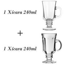 1 Xícara de café 240ml + 1 xícara Country 240ml - Crisal