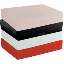 10 caixa para presente pequena plastica 24 x 16,5 x 4,5 cm - Dello