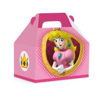 10 Caixas Maleta Kids Princesa Peach M 12X8X12Cm Dec. Festas - Cromus
