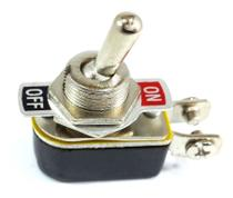 10 Chave Tic Tac Metal On/Off 2 Posições 2 Terminais KNH-1S - Ntv
