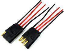 10 Conector 4 Vias com Fio 1,5 mm Chicote Plug Para Caixa - Permak