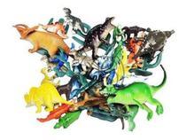 10 Dinossauro Borracha Miniatura Pequena Brinde Festa - Ausini