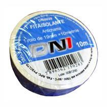 10 Fitas Isolantes PVC Brancas 10m - DNI 5028 -