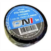 10 Fitas Isolantes PVC Pretas 5m - DNI 5029 -