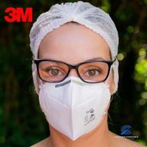 10 Máscaras 3M 9920H Hospitalar com registro Anvisa e selo Inmetro- CA 17611 n95 - 3M Brasil