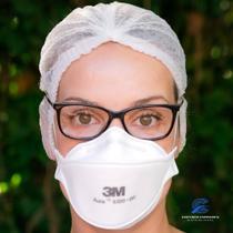 10 Máscaras 3M Aura 9320 com espuma no clipe nasal para melhor vedação e conforto CA: 30592 n95 - 3M Brasil