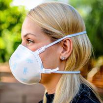 10 Máscaras PFF2 Hospitalar Gvs Aero 2 com espuma para melhor vedação e conforto com registro anvisa - Gvs Do Brasil Ltda