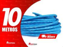 10 Metros Cabo De Rede Internet Profissional Azul (Sem Conector) - SHOPDNG