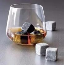 10 Pedra Sabao Gelar Whisky Vinho Cachaça Cubos De Gelo Luxo - Artesanal