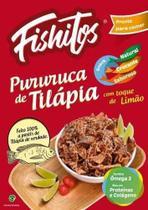 10 Pururuca De Tilapia Salgadinho Fishitos 100% Natural 35gr -