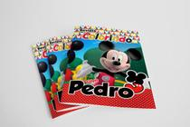 10 Revistinha para Colorir Mickey - Blank art studio
