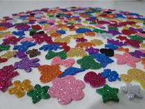 100 Adesivos Pet Piercings Lacinhos Eva Com Glitter Para Petshop Cães E Gatos Banho E Tosa - FUNNYDOGS