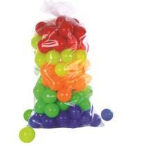 100 Bolinhas coloridas para piscina de bolinha - Valentina Brinquedos
