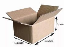 100 Caixas De Papelão Correios Pac Sedex Envios C20 x L13 x A06 - Caixa De Papelão