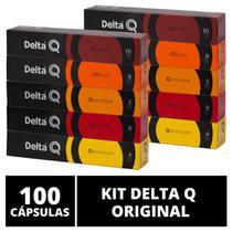 100 Cápsulas Delta Q  Degustação Café - Cafeteira Delta Q -