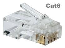 100 conectores rj45 cat6 - Madmak