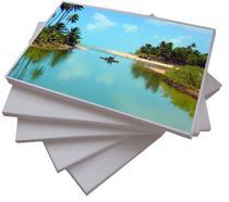 100 Folhas Papel Fotográfico Adesivo glossy 135grs A4 - Premium