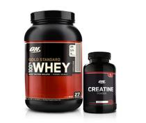 100 Gold Standard 2lbs + Creatina 150g - Optimum Nutrition
