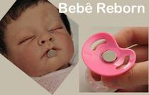 100 Imas De Neodímio Para Chupetas de Boneca Bebe Reborn  12,5mm X 2mm - Fácil Negócio Importação