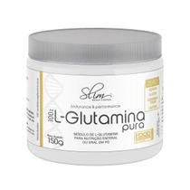 100% L-Glutamina Pura 150g  Slim Weight Control -