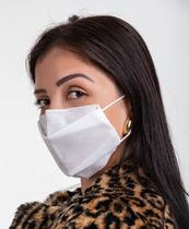 100 Máscaras Descartáveis Com Clip Nasal - Entrega Imediata - Flex
