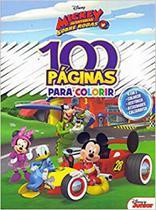 100 Páginas para Colorir Disney : Mickey - Bicho Esperto - Rideel -