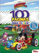 100 Páginas para Colorir - Mickey Disney - Rideel