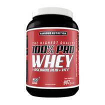 100% Pro Whey 907g Furious Nutrition - Baunilha