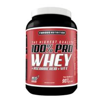 100% Pro Whey 907g Furious Nutrition -