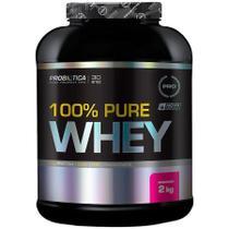 100% Pure Whey - 2kg - Morango - Probiótica -