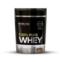 100% Pure Whey 825g Refil Probiótica - Sabor Chocolate -
