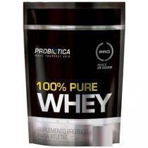 100% Pure Whey Refil (825g) - Baunilha - Probiótica -