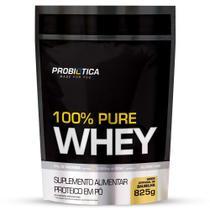 100% Pure Whey Refil (825g) Sabor Baunilha - Probiotica -