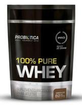 100% pure whey refil chocolate probiotica - 825g -