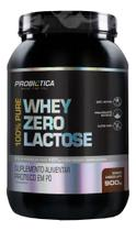 100% Pure Whey Zero Lactose 900g - Morango Probiótica - Probiotica