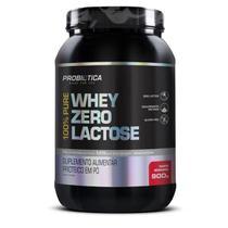 100% Pure Whey Zero Lactose 900g Probiótica Vários Sabores - Probiotica
