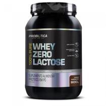 100% Pure Whey Zero Lactose 900g Probiótica Vários Sabores -