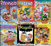 100 Revistas Turma da Mônica Oferta Especial - Panini