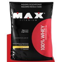 100% Whey 2 kg - Max Titanium -