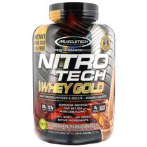 100 Whey Gold Nitro Tech 2,49Kg + Dose Unica - Muscletech