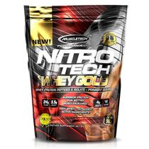 100 Whey Gold Nitro Tech 454g + Cookies + Dose Unica - Muscletech