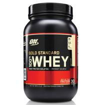 100 WHEY GOLD STANDARD 2 LBS - OPTIMUM NUTRITION - Baunilha