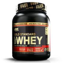 100 Whey Gold Standard 20 Free (2,4Lbs/1090g)  Optimum Nutrition